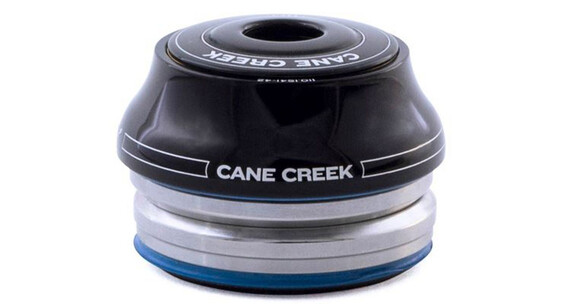 "Cane Creek 110 - Dirección - 1 1/8"" Tall IS42/28.6/H15 I IS42/30 negro/Plateado"